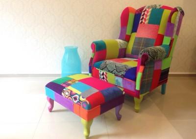 pufa puf patchwork