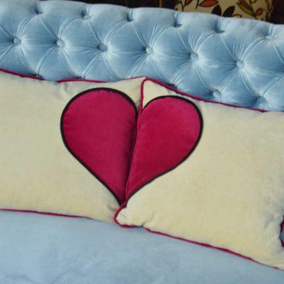 poduszka serce juicy colors