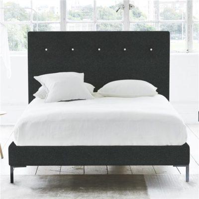 łóżko scandi czarne juicy colors