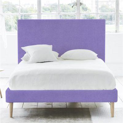 łóżko scandi jasny fiolet juicy colors